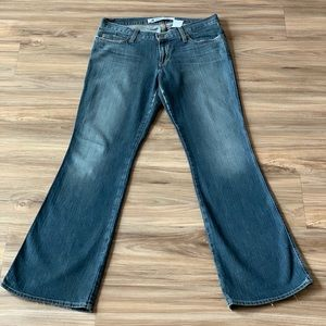GAP Ultra Low Rise Jeans - Size: 10 Regular